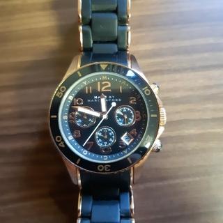 マークバイマークジェイコブス(MARC BY MARC JACOBS)のジャンク品 MARC BY MARC JACOBS 腕時計(腕時計(アナログ))