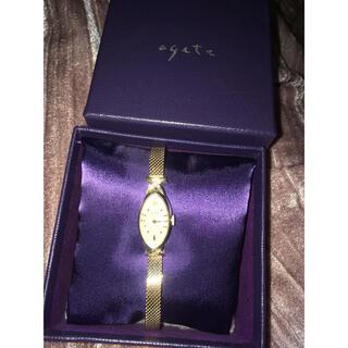 agete classicK10腕時計 アガット クラシック シャンパンゴールド