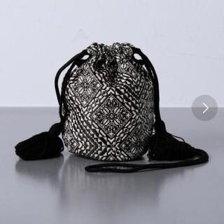 ユナイテッドアローズ(UNITED ARROWS)のFatima Morocco 巾着バッグ(ショルダーバッグ)
