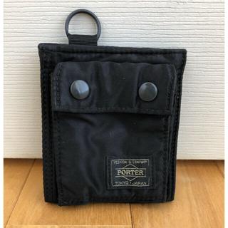 ポーター(PORTER)の美品 ポータータンカー ウォレット 財布(折り財布)