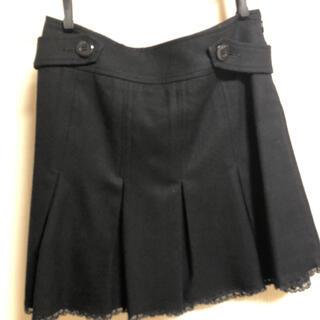バービー(Barbie)の美品 Barbie スカート  黒(ミニスカート)