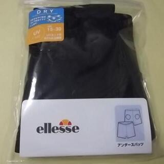 エレッセ(ellesse)の新品 ellesse XLサイズ テニス アンダースパッツ・アンダースコート 黒(ウェア)
