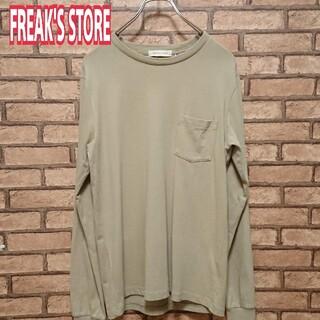 フリークスストア(FREAK'S STORE)のFREAK'S STORE フリークスストア 長袖Tシャツ USA COTTON(Tシャツ/カットソー(七分/長袖))