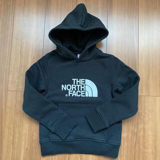 ザノースフェイス(THE NORTH FACE)のノースフェイス パーカー ジュニアSサイズ(Tシャツ/カットソー)