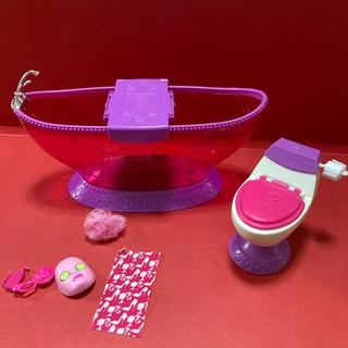 Barbie - Barbi お風呂 トイレ