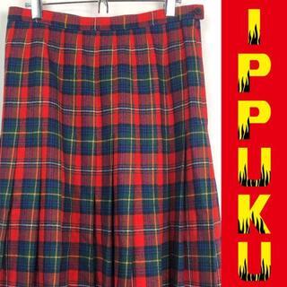 ペンドルトン(PENDLETON)の●70年代 70s ペンドルトン タータンチェック USA製 アメリカ製(ロングスカート)