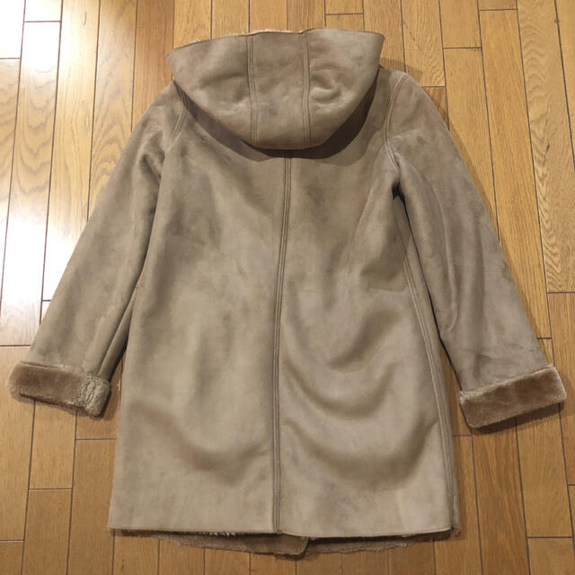 しまむら(シマムラ)のartemarvel ムートンコート 茶 レディースのジャケット/アウター(ムートンコート)の商品写真