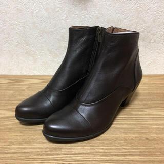 ラボキゴシワークス(RABOKIGOSHI works)のラボキゴシ ショートブーツ 23.5(ブーツ)