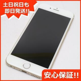 アイフォーン(iPhone)の新品同様 SIMフリー iPhone6S 16GB ゴールド (スマートフォン本体)