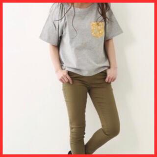 ロデオクラウンズ(RODEO CROWNS)の無料おまけ付き 新品未使用 パンツ R+ 美 ライン スキニー パンツ(スキニーパンツ)