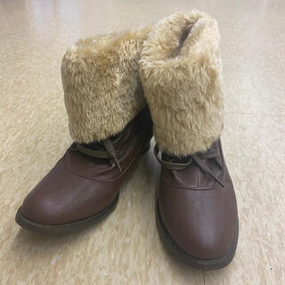 ファー付きブーツ(ブーツ)