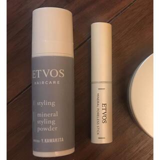 エトヴォス(ETVOS)のETVOS(エトヴォス) ミネラルスタイリングパウダー ポアレススティック(ヘアケア)