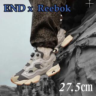 リーボック(Reebok)の【海外限定】END x Reebok insta pump fury(スニーカー)