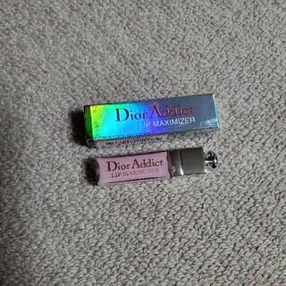 ディオール(Dior)のDior アディクト リップマキシマイザー ミニ 001 (リップグロス)