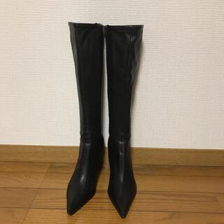 DIANA - 美品 ダイアナロングブーツ 23.5センチ
