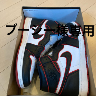 ナイキ(NIKE)のAIR JORDAN1 RETRO HIGH OG blood US11 正規品(スニーカー)