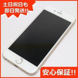 アイフォーン(iPhone)の美品 SIMフリー iPhone6S 32GB ゴールド (スマートフォン本体)