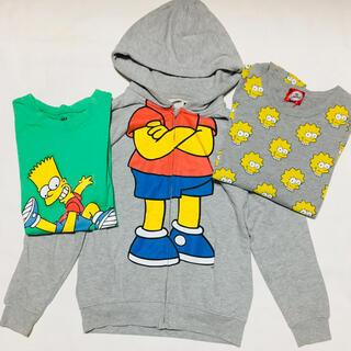 エイチアンドエム(H&M)のシンプソンズ Simpsons まとめ売り トレーナー Tシャツ ロンT(トレーナー/スウェット)