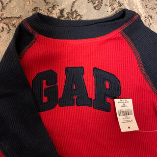 babyGAP - ベビーギャップ リブ長袖T 80 タグ付き新品