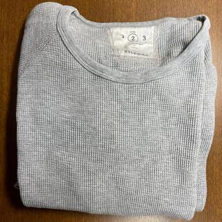 ステュディオス(STUDIOUS)のSTUDIOUSのワッフルTシャツ(Tシャツ/カットソー(七分/長袖))