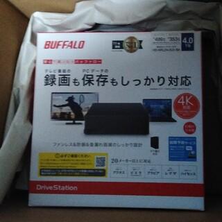 Buffalo - 新品未開封 BUFFALO外付けHDD 4TB HD-NRLD4.0U3-BA