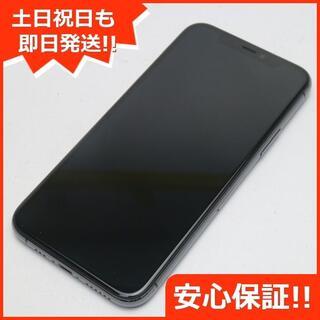 アイフォーン(iPhone)の新品同様 SIMフリー iPhone 11 Pro 256GB スペースグレイ (スマートフォン本体)