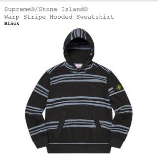 シュプリーム(Supreme)のsupreme Warp Stripe Hooded Sweatshirt(パーカー)