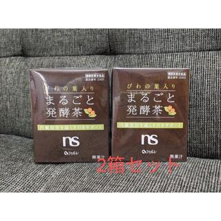 シャルレ(シャルレ)のシャルレ◆びわの葉入り まるごと発酵茶 2箱◆新品 (健康茶)