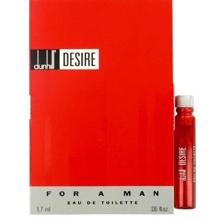 ダンヒル(Dunhill)の1.7mlX2   2点 DUNHILL DESIRE RED(香水(男性用))