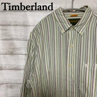 ティンバーランド(Timberland)のTimberland ティンバーランド ロゴ刺繍 メンズシャツ used(シャツ)