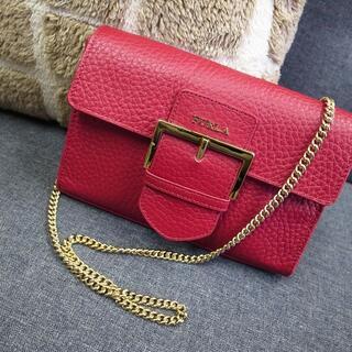 フルラ(Furla)の正規品☆フルラ チェーンバッグ チェーンショルダー ベルト バッグ 財布(ショルダーバッグ)