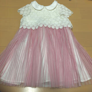 クミキョク(kumikyoku(組曲))のクミキョク キッズ100サイズ ワンピース発表会 結婚式 (ドレス/フォーマル)