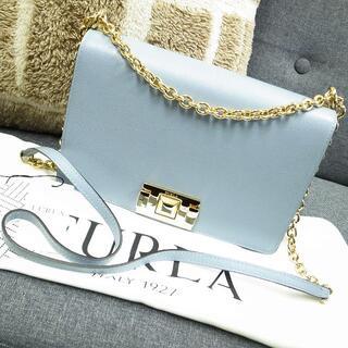 フルラ(Furla)のほぼ未使用☆フルラ ミミクロスボディー MIMI チェーンバッグ バッグ 財布(ショルダーバッグ)