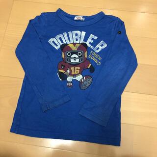 ダブルビー(DOUBLE.B)のダブルB ロンT 120サイズ(Tシャツ/カットソー)