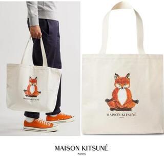 MAISON KITSUNE' - 【新品】MAISON KITSUNE メゾンキツネ トートバッグ