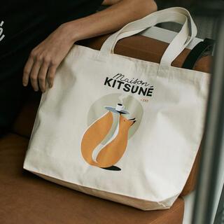 メゾンキツネ(MAISON KITSUNE')のEND. X MAISON KITSUNÉ CAFÉ CLUB TOTE BAG(トートバッグ)