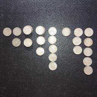 旧100円硬貨  38枚セット(貨幣)