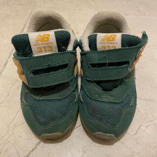 New Balance - ニューバランス スニーカー キッズ 靴 PO313 緑 14cm