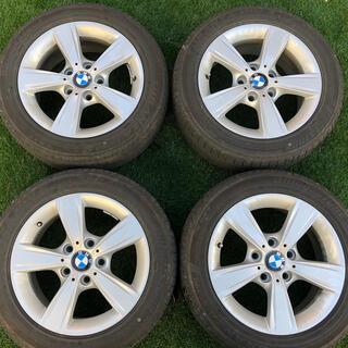 ビーエムダブリュー(BMW)の❤️BMW 1シリーズ F20純正ホイール7.0J-16 205/55/R16(タイヤ・ホイールセット)