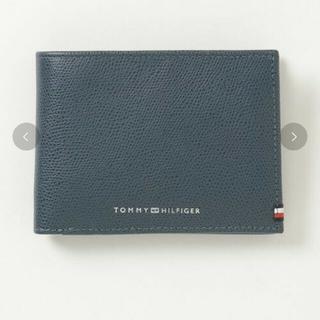 トミーヒルフィガー(TOMMY HILFIGER)のレザーウォレット(2つ折り財布)(折り財布)