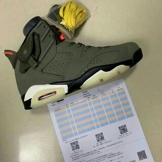 26cm NIKE AIR JORDAN 6 TRAVIS SCOTT NI(スニーカー)
