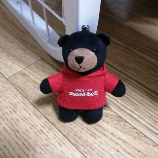モンベル(mont bell)のモントベアー 根付ストラップ(キャラクターグッズ)