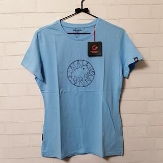 マムート(Mammut)の【新品】Mammut Logo T-ShirtWomen アジアL 水色(登山用品)