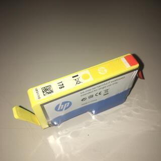 ヒューレットパッカード(HP)の新品未使用 使用期限たっぷりの2021/9 HP純正インク 178 イエロー(オフィス用品一般)