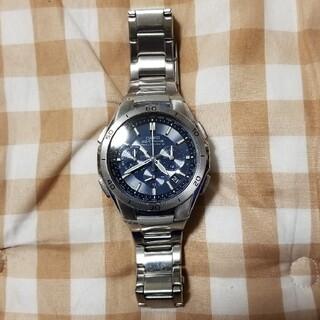 カシオ(CASIO)のCASIO wave ceptor ソーラー電波時計(腕時計(アナログ))