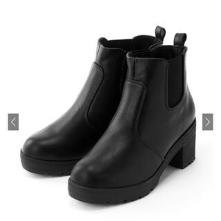 グレイル(GRL)の【ポン様専用⠀】GRL  サイドゴアショートブーツ 23.0cm(ブーツ)