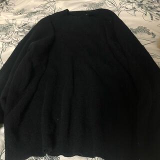 レプシィム(LEPSIM)のレプシム 黒ニット(ニット/セーター)