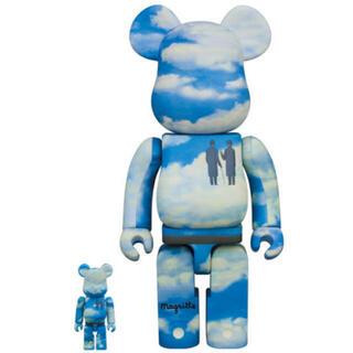メディコムトイ(MEDICOM TOY)のBE@RBRICK Rene Magritte 100% 400% 新品(その他)
