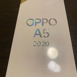 ラクテン(Rakuten)のオッポOPPO A5 2020 グリーン 新品 未開封(スマートフォン本体)