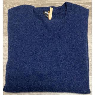 UNIQLO - 美品 ユニクロ UNIQLO メンズ カシミヤVネックセーター カシミヤ100%